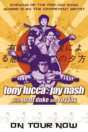 Tony lucca and jay nash will